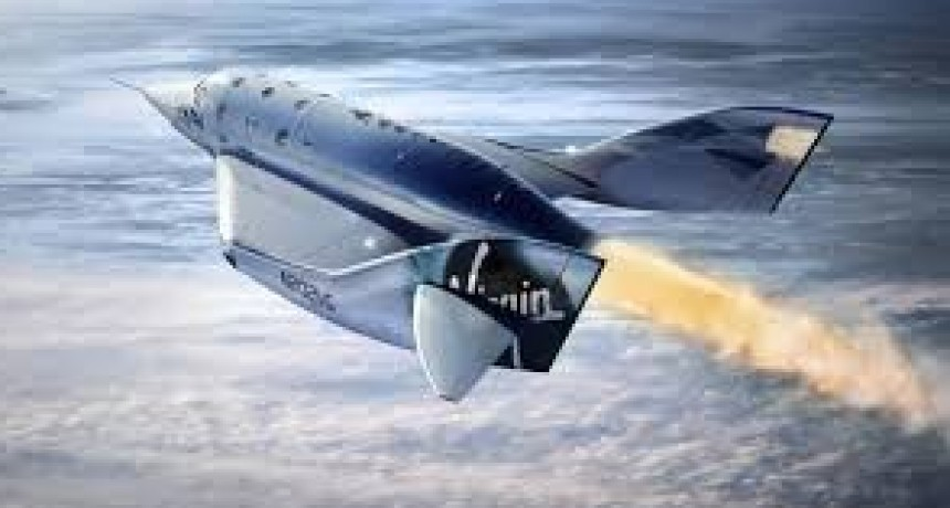La nave de Virgin Galactic logra su mayor altitud.