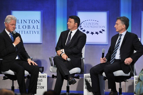 El presidente Macri expuso en la Clinton Global Initiative