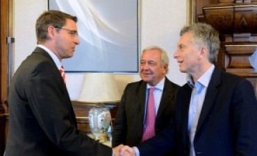 El presidente Macri recibió al CEO de Deutsche Post